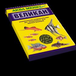 Аква-меню Великан 25гр - палочки для крупных рыб