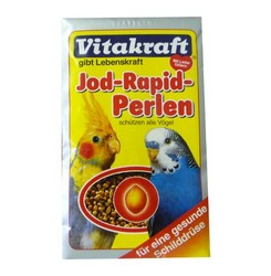 Vitakraft витаминное лакомство для волнистых попугаев, c йодом для зоба 30г