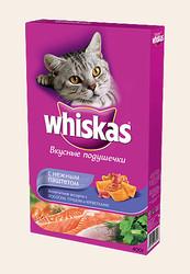 Вискас сухой корм для кошек 350гр - Морское ассорти