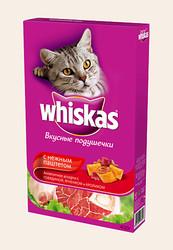 Вискас сухой корм для кошек 350гр - Мясное ассорти